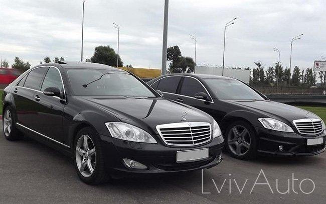 Аренда Mercedes S-Class W221 на свадьбу Львів