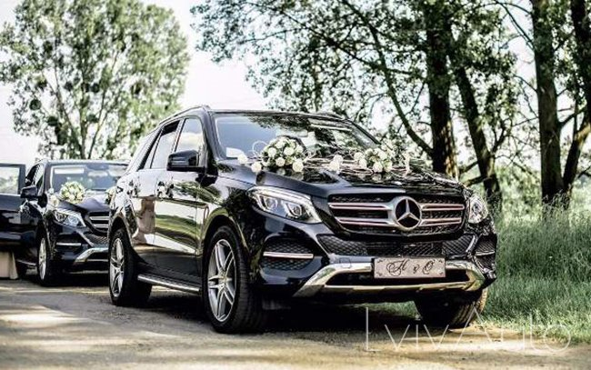 Аренда Mercedes GLE на свадьбу Львів