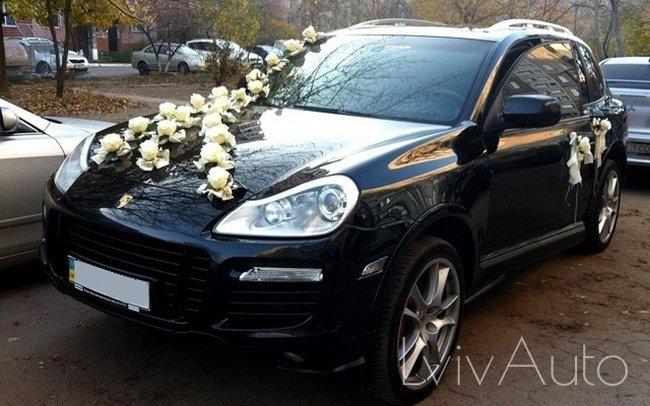Аренда Porsche Cayenne на свадьбу Львів