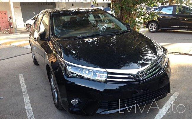 Аренда Toyota Corolla New на свадьбу Львів