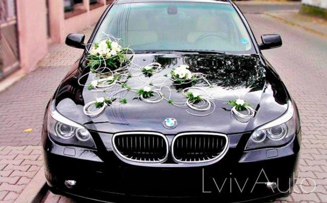 Аренда BMW 5 E60 на свадьбу Львів
