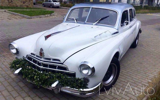 Аренда ГАЗ-12 1960 року на свадьбу Львів