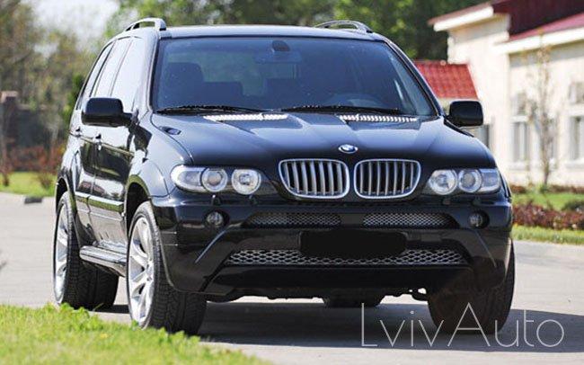 Аренда BMW X5 E53 на свадьбу Львів