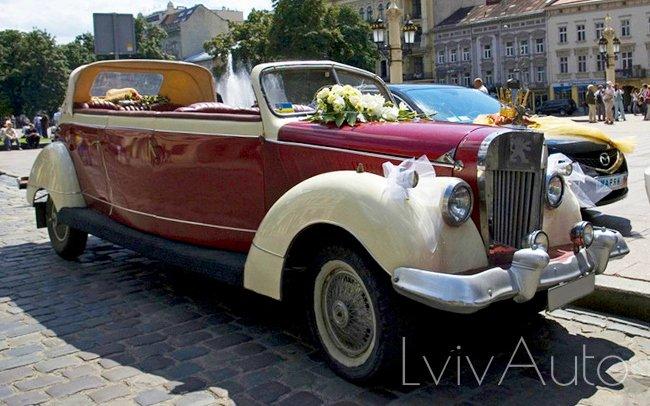 Аренда Peugeot 102 1939 рік на свадьбу Львів