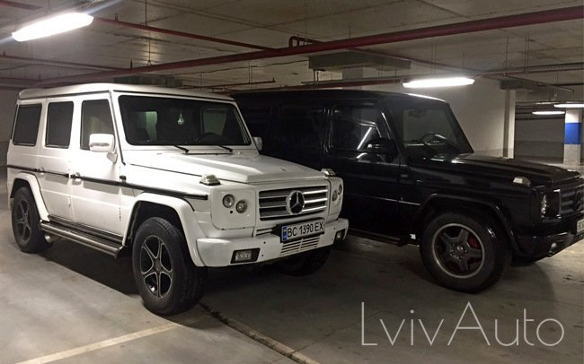 Аренда Mercedes G-Class на свадьбу Львів
