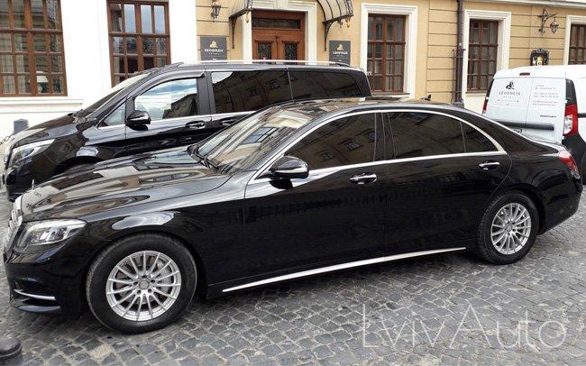 Аренда Mercedes S-Class W222 AMG на свадьбу Львів