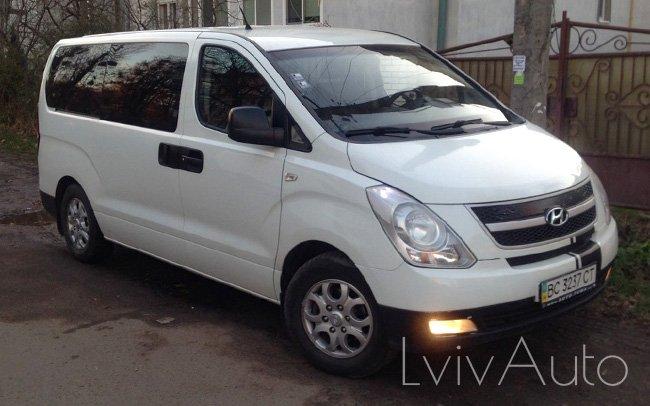 Аренда Hyundai H-1 Starex на свадьбу Львів